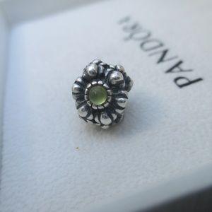 pandora Jewelry - Pandora peridot  Eye Bead Silver 925 ALE 79012